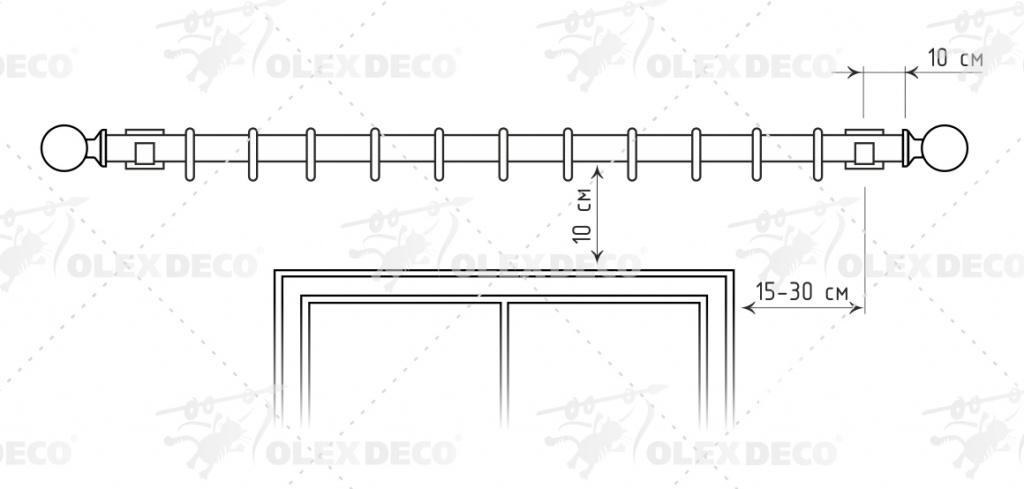 Инструкция монтажа металлического карниза